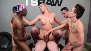 Sexy lesben dreier aktion