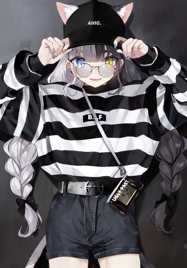 Süße japanische fallen im cosplay foto 2