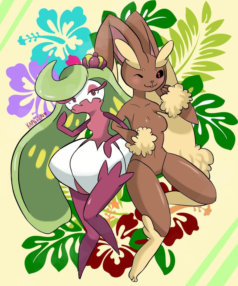 Pokemon hentai lopunny edition