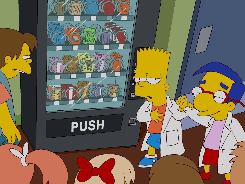 Simpsons bart und marge sex daumen foto 2