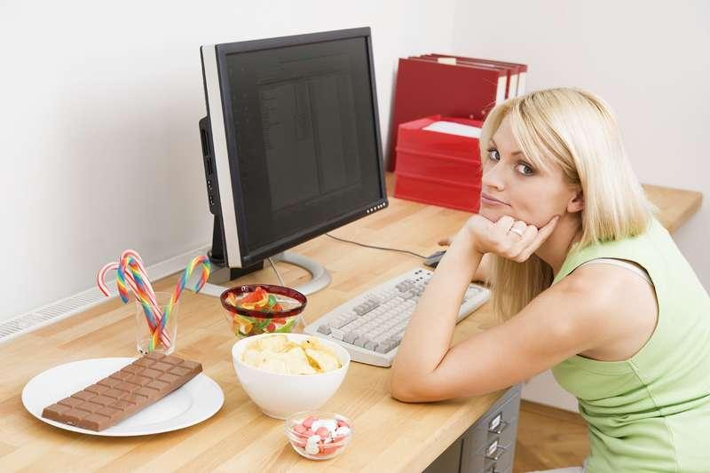 Büro sex beim mittagessen