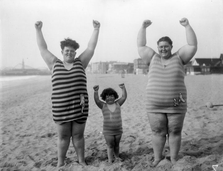 Freak show familie polaroids