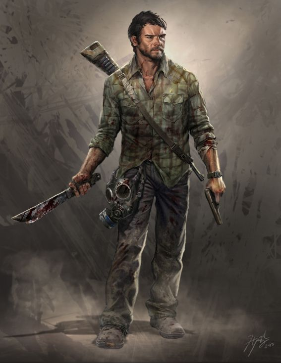 Lara croft gruselige zombies