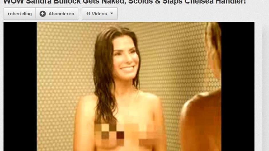 Sandra bullock chelsea handler nackte dusche