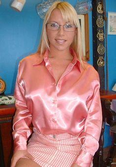Satin bluse sperma heiße mädchen wallpaper foto 1