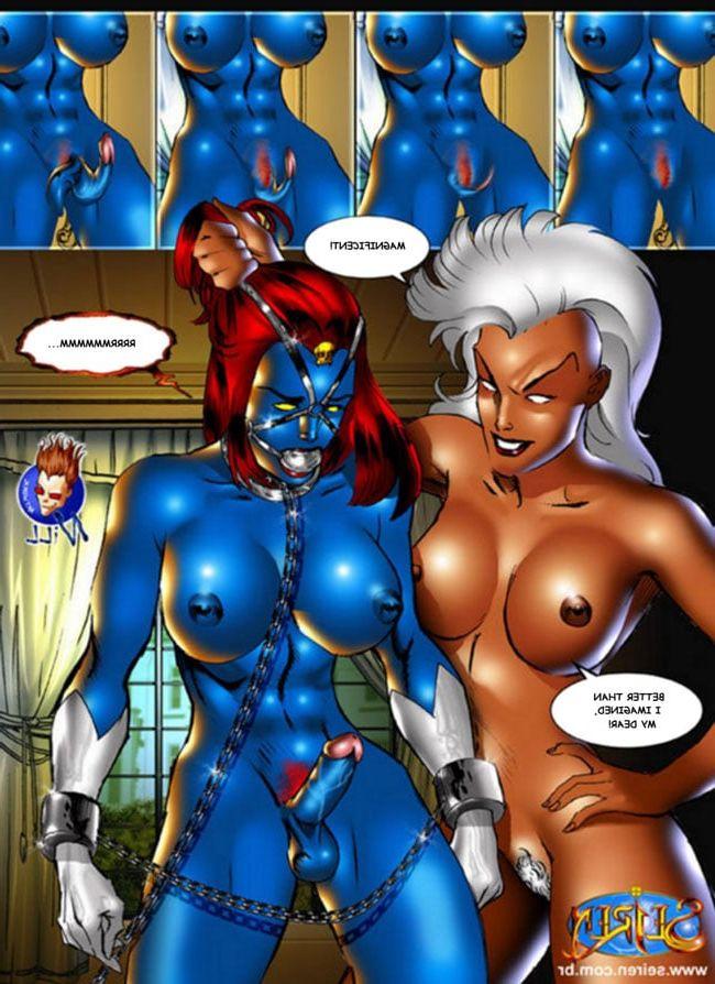 Xxx mystique cartoon mystique porno videos foto 2