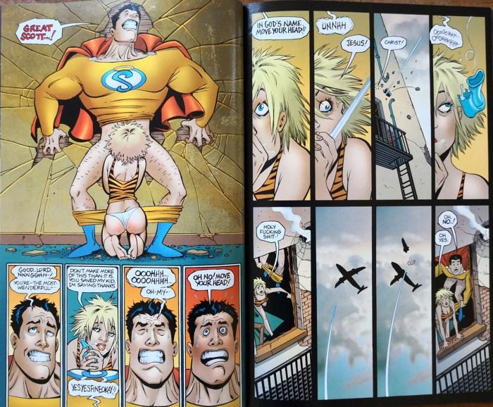 Zerstörte superhelden manga bilder üppig foto 1